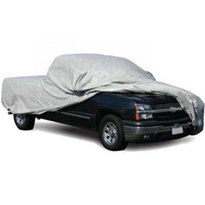 """Picture of ADCO SFS AquaShed (R) Gray 3 Layer Fabric Large Cover For Long Bed 270""""L Pick-Up Trucks 12280 01-0007"""