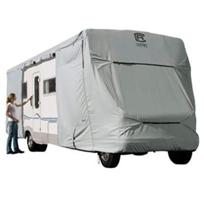Picture of Classic Accessories PermaPRO (TM) Polyester Water Resistant RV Cover For 20' Class C Motorhomes 80-127-141001-00 01-0220