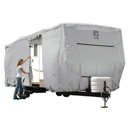 Picture of Classic Accessories PermaPRO (TM) Polyester Water Resistant RV Cover For 20' Travel Trailers 80-134-141001-00 01-0270