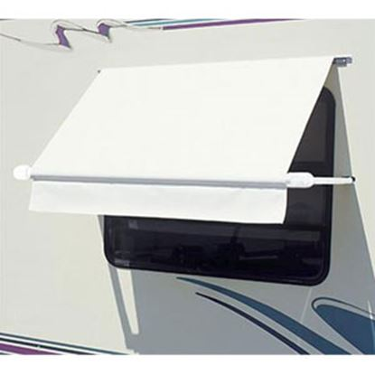 Picture of Carefree SimplyShade (R) White 3.0' DIY Window Awning WH0304F4FW 01-0951