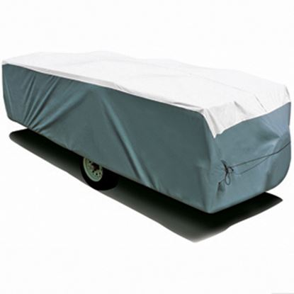 """Picture of ADCO Tyvek (R) Poly Cover For Up To 14' 1""""-16' Folding/ Pop Up Trailers 22894 01-1211"""