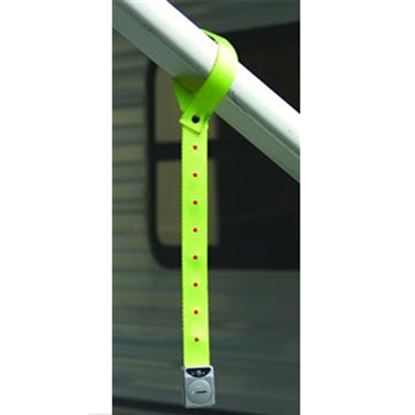 """Picture of Prime Products  16""""L Yellow Warning Strap w/ 8 Flashing LED Lights 15-3001 01-1475"""