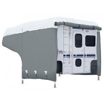 Picture of Classic Accessories PermaPRO (TM) Polypropylene Water Repellent RV Cover For 8-10' Pickup Campers 80-259-151001-00 01-4717