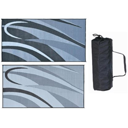 Picture of Ming's Mark  8' x 16' Black/Silver Reversible Camping Mat GB1 01-4994