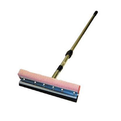 """Picture of Carrand  10"""" EPDM Squeegee w/4-7' Adjustable Telescoping Handle 9500 02-0058"""