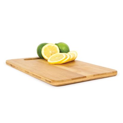 "Picture of Camco  Natural 7-7/8""L x 11-13/16""W x 1/2""H Bamboo Cutting Board 43544 03-0555"
