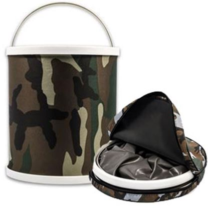 Picture of Camco  Collapsible Bucket  Camo Bucket 42994 03-1951