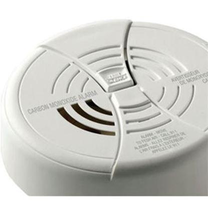"Picture of Kidde  White 1.6""H Battery Carbon Monoxide Detector CO250RVA 03-2138"