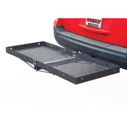"""Picture of Husky Towing  60""""x23-1/2""""x3"""" 500 Lb Cargo Carrier for 2"""" Hitch 81148 05-0049"""