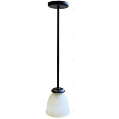 Picture of Lasalle Bristol  12V Alabaster Globe LED Pendent Light 410110005744RT 10-1045
