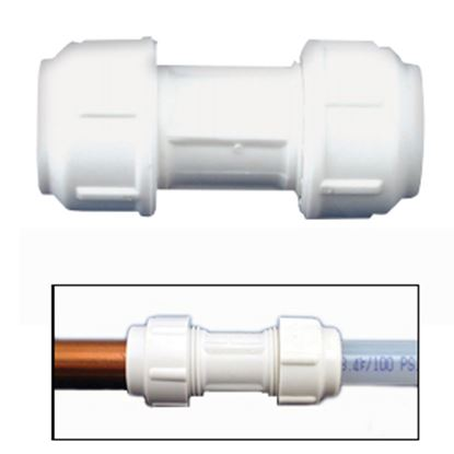 "Picture of Flair-It  1/2""CU x 1/2""CU Transition Fitting 06343 10-8013"