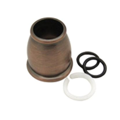 Picture of Dura Faucet  Bronze Bell Style Faucet Spout Nut For Dura DF-PK210 Hi-Rise or DF-PK330 J-S DF-RK500-ORB 10-9016