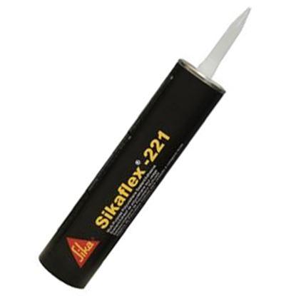Picture of Sika Sikaflex (R)-221 Black 300 Milliliter Tube Adhesive Sealant 017-90893 13-0005