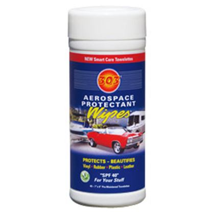 Picture of 303 Products Aerospace Protectant (TM) 40-Wipes Cylinder Vinyl Protectant 30321 13-0500