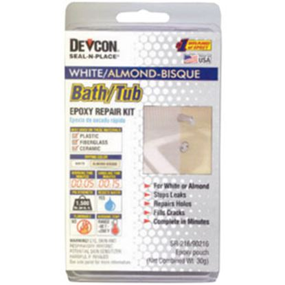 Picture of AP Products  White/ Almond/ Bisque 1500 PSI Bath Tub Repair Kit 002-90216 13-0571