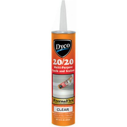 Picture of Dyco Paints  Clear 11 Oz Tube Acrylic Elastomeric Caulk 2020-T-CL 13-0645