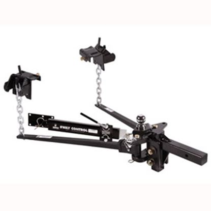"Picture of Husky Towing  600-800lb Trunnion Bar Weight Distribution Hitch w/ 10"" Shank & Ball 31620 14-1072"