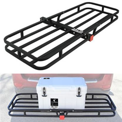 """Picture of Camco  51-1/2""""x17-1/2""""x3-1/4"""" 500 Lb Cargo Carrier for 2"""" Hitch 48475 14-1533"""