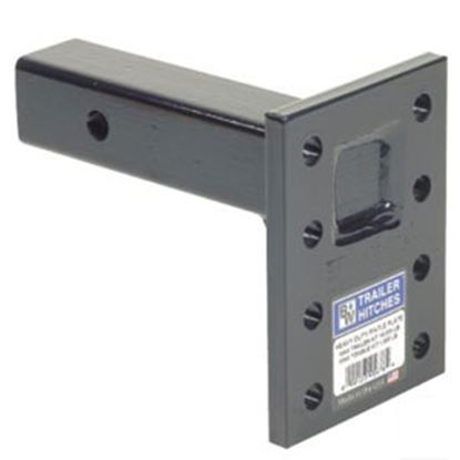 """Picture of B&W Hitches Heavy Duty 16K 6-Position 13"""" Shank Pintle Hook Receiver Mounting Plate PMHD14004 14-3408"""