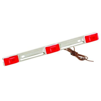 """Picture of Bargman  Red 14-1/2""""x1-1/8""""x1"""" ID Light Bar 203315 18-0300"""