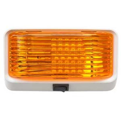 Picture of Diamond Group  Amber Lens Porch Light w/Switch DG52725VP 18-2357