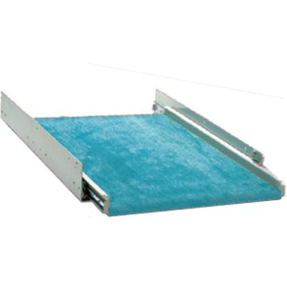 "Picture of Kwikee  200 lb Powder Coat 16"" D Cargo Slide w/o Flooring 378870 19-0661"