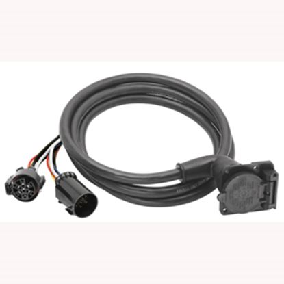 Picture of Bargman  Pkg 90 deg 7-Blade OEM Adapter Trailer Connector 54701-003 19-0676