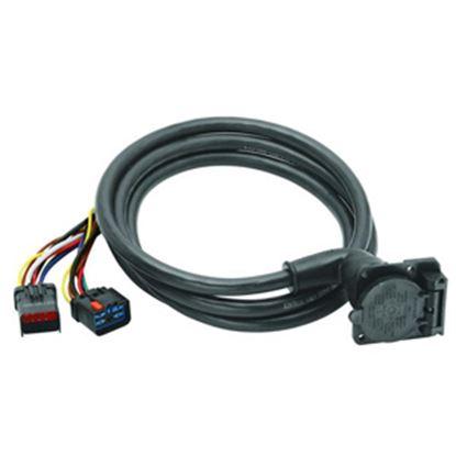 Picture of Bargman  90 deg OEM to 7-Blade Park Power Adapter, pkg 51-97-411 19-0685