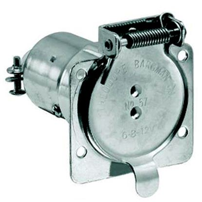 Picture of Bargman  7-Way Blade Car End Trailer Connector w/o Wire Lead 50-57-503 19-0908