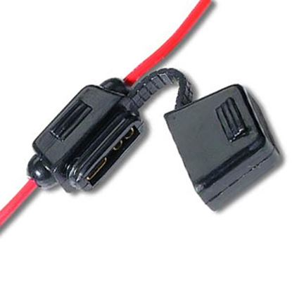 Picture of Battery Doctor  10-Case ATO/ATC Blade Fuse Holder w/Fuse 31820-10 19-3536
