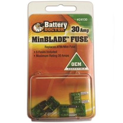 Picture of Battery Doctor  25A ATM/ Mini Clear Blade Fuse 24125 19-3584