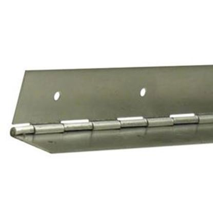 """Picture of ETD  Aluminum .050 x 3""""x 72"""" Continious Hinge ETD 214 20-0718"""
