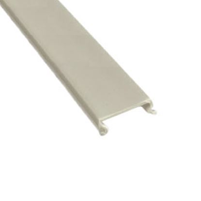 "Picture of AP Products  5-Pack White Plastic 5/8""W X 8'L Trim Molding Insert 011-361-5 20-1118"