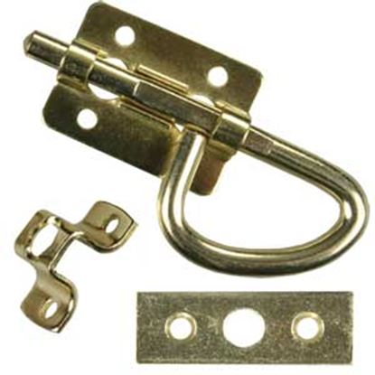 Picture of JR Products  Universal Brass Access Door Latch 20645 20-1952