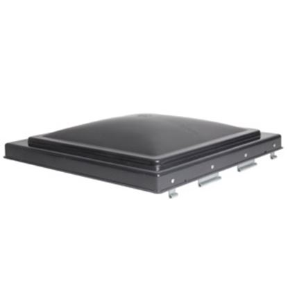"Picture of Camco  Smoke Polypropylene 14"" x 14"" Old Ventline/ Elixir Style Roof Vent Lid 40148 22-0205"