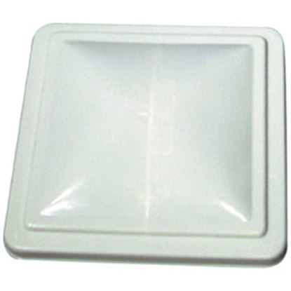 "Picture of Camco  White Polycarbonate 14"" x 14"" Old Ventline/ Elixir Style Roof Vent Lid 40161 22-0216"