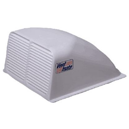 "Picture of Ventmate  Exterior Dome Type White Roof Cover For 14"" X 14"" Vents 67310 22-0223"