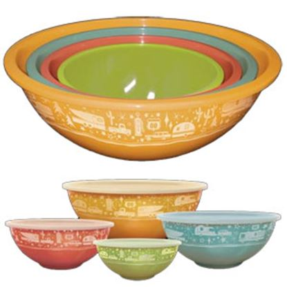 Picture of   Set- 4 Nesting Storage Kitchen Bowl CC-006 22-0523