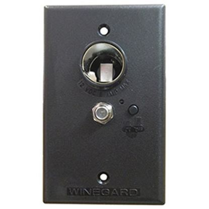 Picture of Winegard  Brown 12V Wall Plate Power Supply RV-7032 24-0470