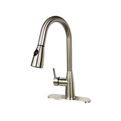 Picture of Lasalle Bristol  Nickel w/Single Lever Kitchen Faucet w/Pull Down Spout 26PO8880BN 69-9235