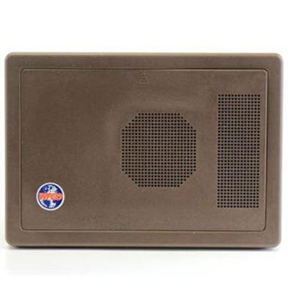 Picture of WFCO  Black Plastic Rectangular Flip Down Power Converter Door WF-8735/40-PB-DO 70-8814