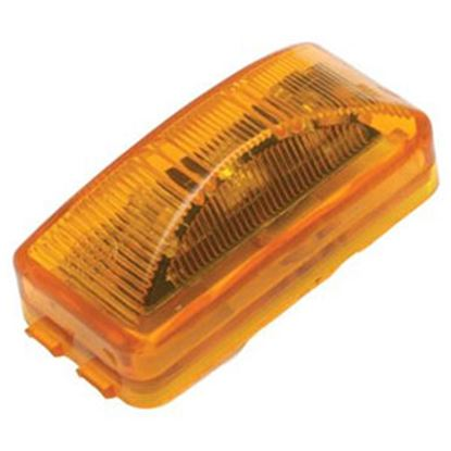 "Picture of Diamond Group  Amber 2-1/2""W x 1-1/4""H x 7/8""Thick LED Side Marker Light WP-1239AF 71-2596"