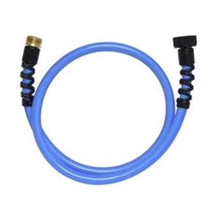 """Picture of Valterra  Blue 1/2"""" Dia 4' L Fresh Water Hose W01-8048 71-5784"""